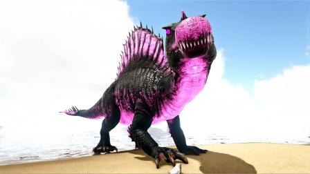 方舟生存进化:普拉达32 带脊背龙升级 关键时刻还得老鳄出场