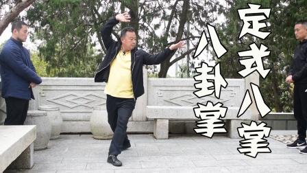 抻筋拔骨!程派八卦掌老八掌完整演示,古董一般的传统武术!