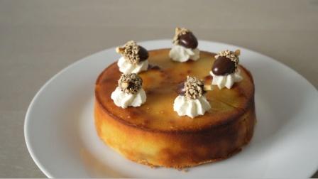 用红薯就能做的红薯千层饼巧克力豆蛋糕,学起来吧