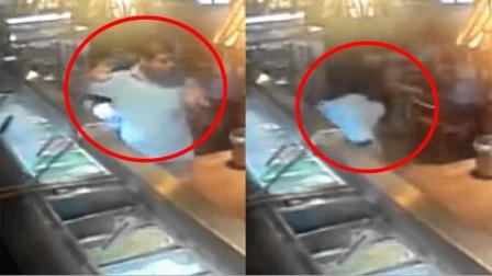 监拍:厄瓜多尔男子遇抢劫 用身体护住女儿 目睹儿子中弹身亡!