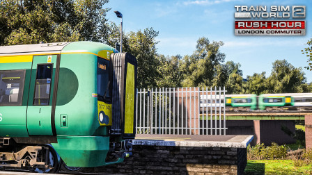 TSW2 伦敦通勤线 #3:慢线施工 驾驶Class377临时插入快线 | 模拟火车世界 2