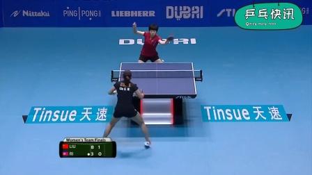 2015世界杯乒乓球女团决赛——中国VS朝鲜