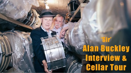 ★ME威律动★Sticky Wicket - Alan Buckley Snare Drum Cellar Tour and Interview