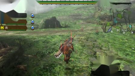 木子小驴解说《PSP怪物猎人3》收集5个熟成蘑菇实况攻略第十期