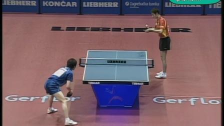 2007萨格勒布世乒赛-男单半决赛——王励勤VS柳承敏