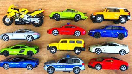 工程车挖掘机汽车玩具:12款玩具汽车试玩,你最喜欢哪一辆?