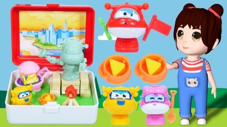 乐乐拆箱:超级飞侠的景点盲盒玩具