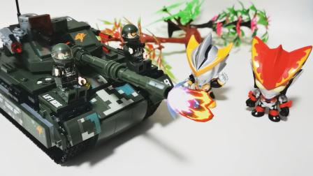 罗索奥特曼的新武器,自动遥控重型坦克!威力测试表现如何?