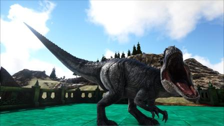 方舟生存进化:VS系列 一百级南巨龙VS一百级镰刀龙 谁更牛