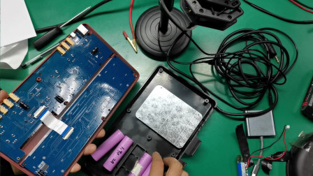 800块钱买的直播声卡改装!把锂电池容量给它加大