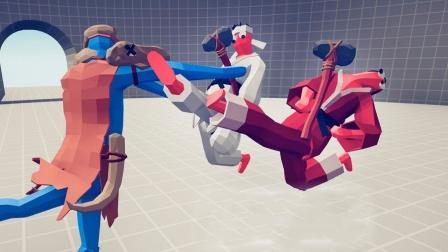 全面战争模拟器游戏 跆拳道组合对战各个兵种