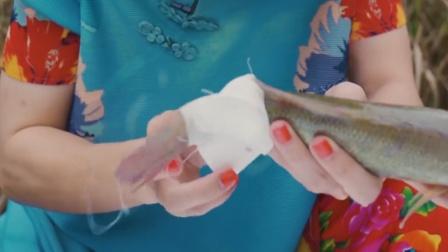 大姨30秒教会大家,鱼的急速救心法!