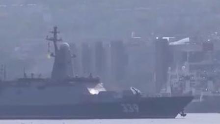 中俄舰队围绕日本画圈圈 日本防卫省武官最高长官紧张了#中俄 #日本