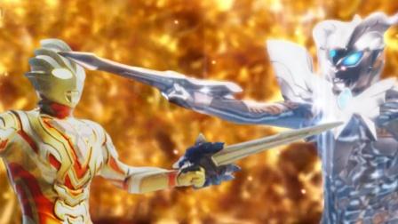 迪亚波罗单挑两位奥特曼,闪耀特利迦的实力超越了究极光辉赛罗?