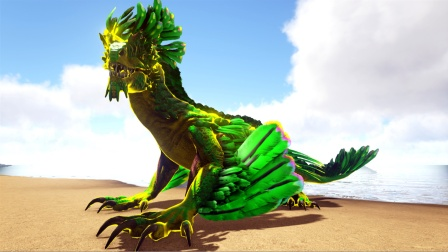 方舟生存进化:普拉达33 称岩龙为空中最亮的仔 玛纳加尔姆服