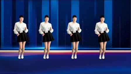 动感活力广场舞《快来追姐吧》舞步欢快优雅,简单好看