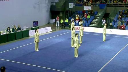 国家太极队组合表演荣获国际金牌 世界冠军