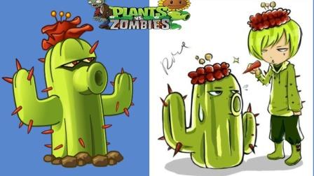 植物大战僵尸2罗修:用杰尼龟玩?闪电附魔仙人掌!