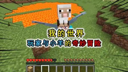 我的世界:玩家与小羊的冒险