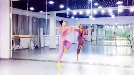 美懿老师古典舞《山上雪》背面完整版。原创:深舞王浩廷。