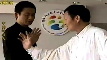 太极拳刚柔并济,刘忠维现场演示太极拳发力点,一起来看看吧
