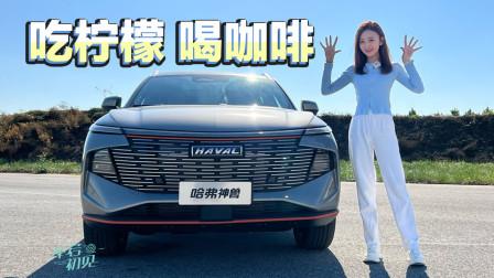 车若初见:全新科技旗舰SUV,哈弗神兽出笼!