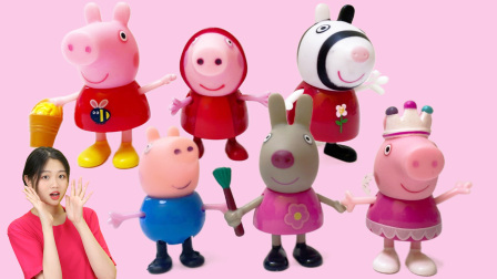 小猪佩奇佩奇的房子盲盒系列