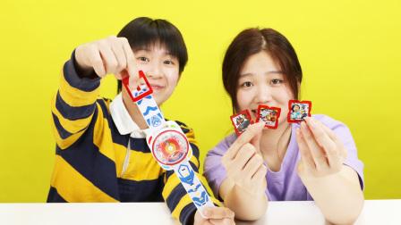 咖宝车神第二代咖宝召唤手表玩具开箱