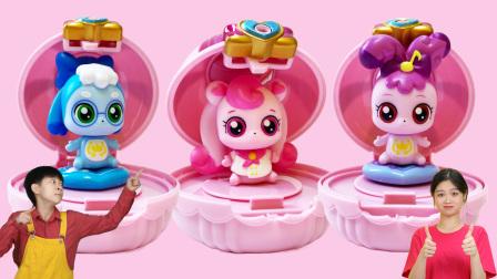 奇妙萌可玩具惊喜镜盒盲盒开出唱唱萌可正正萌可爱心萌可