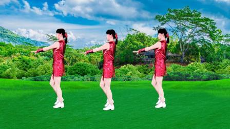 广场舞《心上的罗加》单人水兵舞,背面示范教程