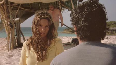 两男一女不幸被困荒岛,谁能提供更多的食物,女孩就听谁的!