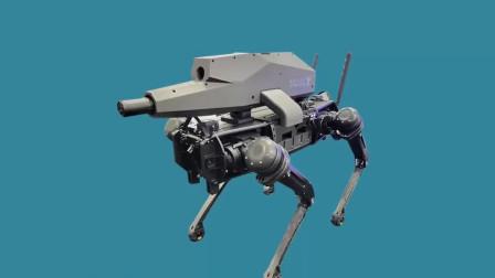 机器人会统治人类吗?Ai机器狗背上枪成无人杀手,将投入战场