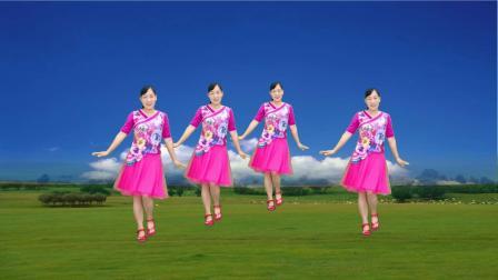 陕北民歌广场舞《棉袄袄》歌醉舞美,好听好看,送给你欣赏
