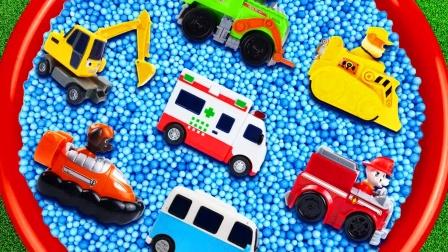 儿童益智玩具:摩托艇、工程车、警车、公交车、挖掘机、救护车!