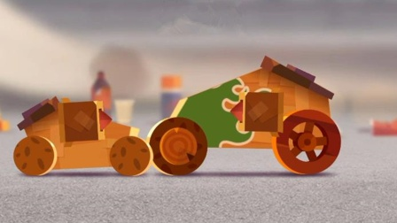 喵星大作战:改装汽车对战大巨人