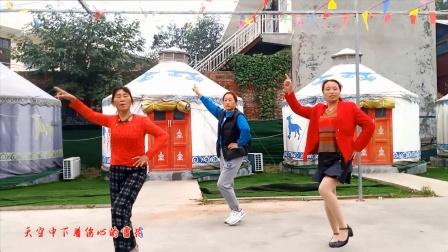 梦中的流星广场舞《伤心的雪花》舞蹈:太公镇大漫流舞蹈队