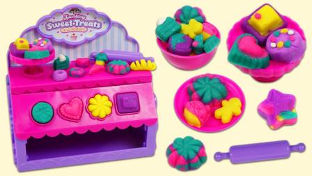 彩泥玩具DIY面包店小甜点
