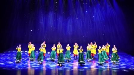 舞蹈:共产党来了苦变甜,河南省第十四届群星奖音乐舞蹈大赛