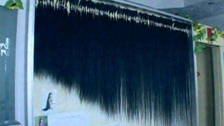 7年收集17万根头发,还全部挂在墙!