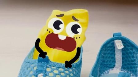 表情动画,毛巾被踩了?