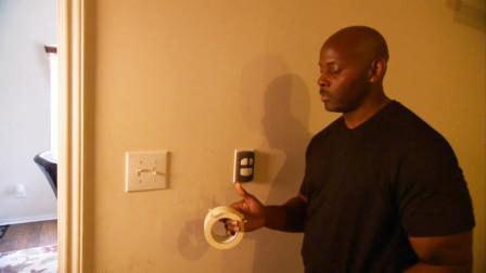休斯顿电费9美元1度,美国抠门男子用胶带粘住家里插座