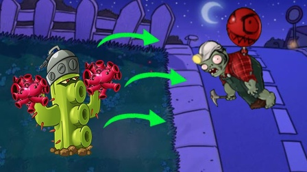 植物大战僵尸2罗修:免费白嫖的十连抽 被仙人掌气晕了