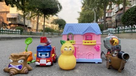 植物大战僵尸玩具,消防队长歌德玩具