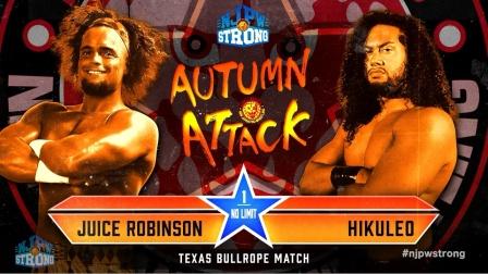 NJPW 2021.10.24 STRONG #63 Autumn Attack 第三日 日语