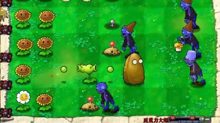 植物大战僵尸beta版:反重力大炮,等了三分钟才发射!