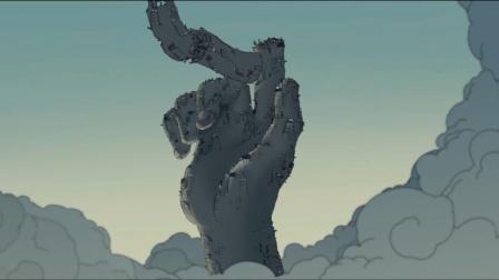 没有了佛祖的保佑,4500米的摩天大楼,瞬间倒塌!