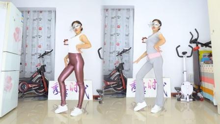 秀舞时代 微微 泫雅 Lip Hip 舞蹈 皮裤瑜伽裤美女