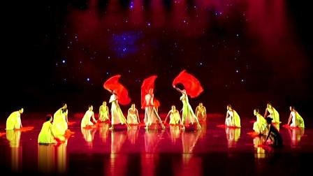 舞蹈《红旗颂》,河南省第十四届群星奖音乐舞蹈大赛。