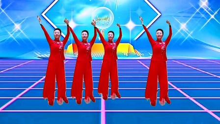 广场舞《九九女儿红》,经典老歌,舞姿优美!