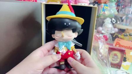 泡泡玛特皮诺曹dimoo潮玩玩具分享~
